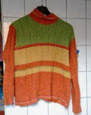 Leichter Chenille Pullover Gr 40