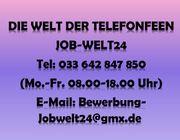 Telefonistin Heimarbeit Job