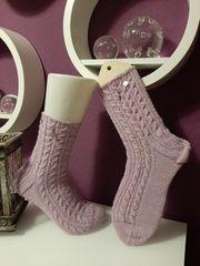 Socken Prima Ballerina 41 handgestrickt