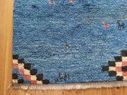 SALE Gabbeh Woll-Teppich 178x125