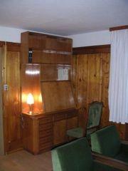 Wohnzimmer komplett Sekretär Kasten und