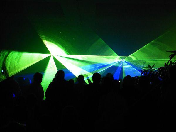 Laser Show für Hochzeit Weihnachtsfeier