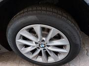 4 BMW-Winterreifen auf Alufelgen
