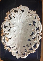 Antike Meißen Porzellan Prunkschale mit