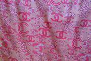 Chanel Tuch Seidenschal in Rosa