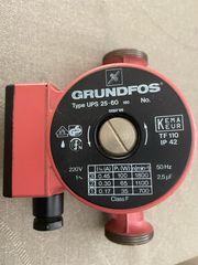 Grundfos Heizungszirkulationspumpe UPS25-60
