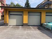 Garage Lagerraum und Stellplatz zu