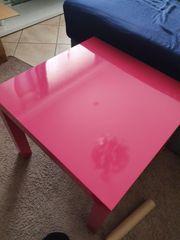 Ikea Tisch pink