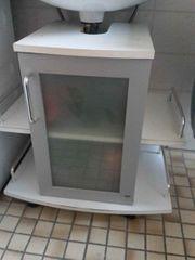 Waschbecken Unterschrank von Tchibo weiß