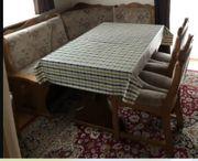 Eckbank Stühle Tisch Sofa Sesel