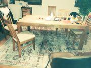 Tisch mit Stühlen Esstisch Stuhl