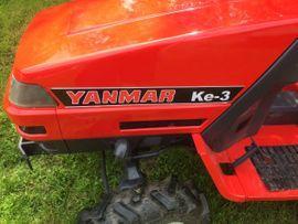 Kleintraktor Yanmar KE-3 Diesel Allrad: Kleinanzeigen aus Vösendorf - Rubrik Traktoren, Landwirtschaftliche Fahrzeuge