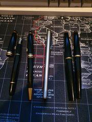 Montblanc 3 füller und 2