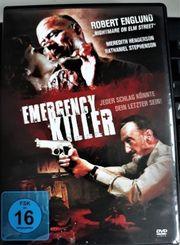 EMERGENCY KILLER HORRORTHRILLER DVD