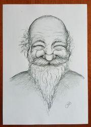 Zeichnung Druck Bild Bonian alter