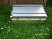 Alu-Übersee-Koffer sehr guter Zustand