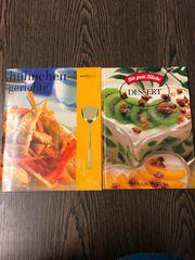 2 Kochbücher Hühnergerichte Desserts Kochbuch