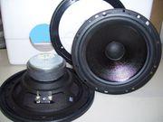 2 Lautsprecher mit Einbaurahmen