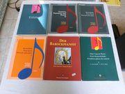 10 alte Songbooks Notenhefte viel