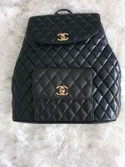 Chanel Tasche Rucksack HW Gold
