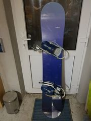 Generics Snowboard mit Bindung