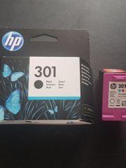 2 Druckerpatronen HP301 zu verkaufen