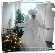 Weihnachtsengel Weihnachtsmann Christkind Show und