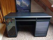 Computertisch Schreibtisch in schwarz