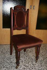Stuhl Antik Viktorianische ca 1860 -