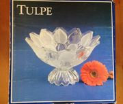Tulpe Schale Kristall Walther Glas