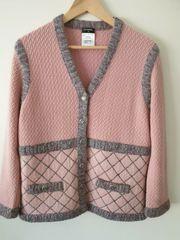 CHANEL Jacke Pink Harlequin Cashmere