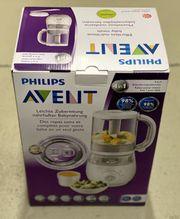 Philips AVENT Dampfgarer Mixer 4-in-1 Zusatzschüsseln