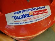 Camping Gasflasche Voll mit Kappe