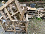 Palettenholz abzugeben für Anzündholz