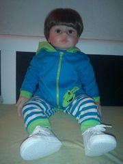 Reborn Puppe 60 cm zu