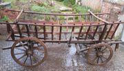 Leiterwagen Heuwagen für Pferd oder
