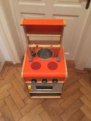Kinder-Spielküche Holz mit Zubehör