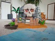 Playmobil Piratenschiff und Schatzinsel