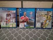 3 PS4 Spiele Fifa 16