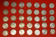 Sammlermünzen BRD DDR Deut Reich