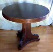 Runder Tisch ca 1920 Eiche
