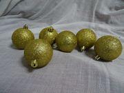 Weihnachten Paket Kugeln Sterne Tablett
