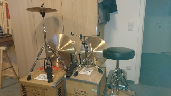 SONOR-Schlagzeug - UPDATE - diverse Hardwarekomponenten