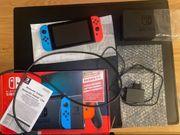 Nintendo Switch Konsole 2 Spiele