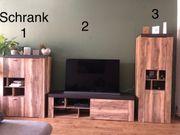 Wohnwand in sehr schöner Holzoptik