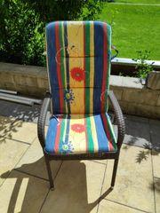 Auflage Sitzkissen für Gartenstühle