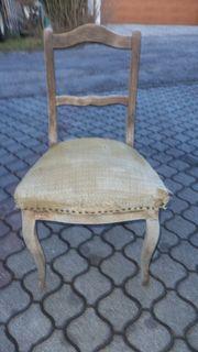 Rarität antiker Stuhl Biedermeier-Stil zum