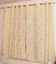 Fenster-Vorhang 2-teilig - Höhe 150 - Breite