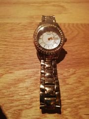 Guess Damen Armbanduhr Analog Quarz