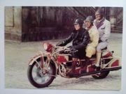 DDR Postkarten Oldtimer Motor - Fahrräder